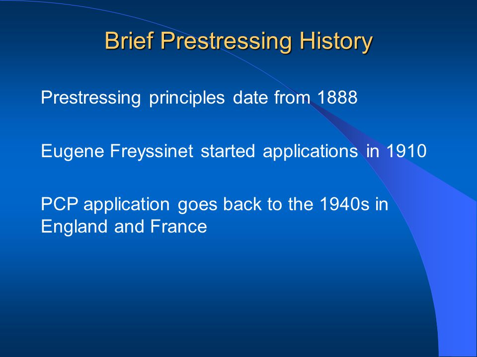 APPLICATION OVERSEAS First application in England in 1943 Then in Paris, France at Orly Airport Other projects in Austria, Belgium, Germany, The Netherlands, Switzerland, etc.