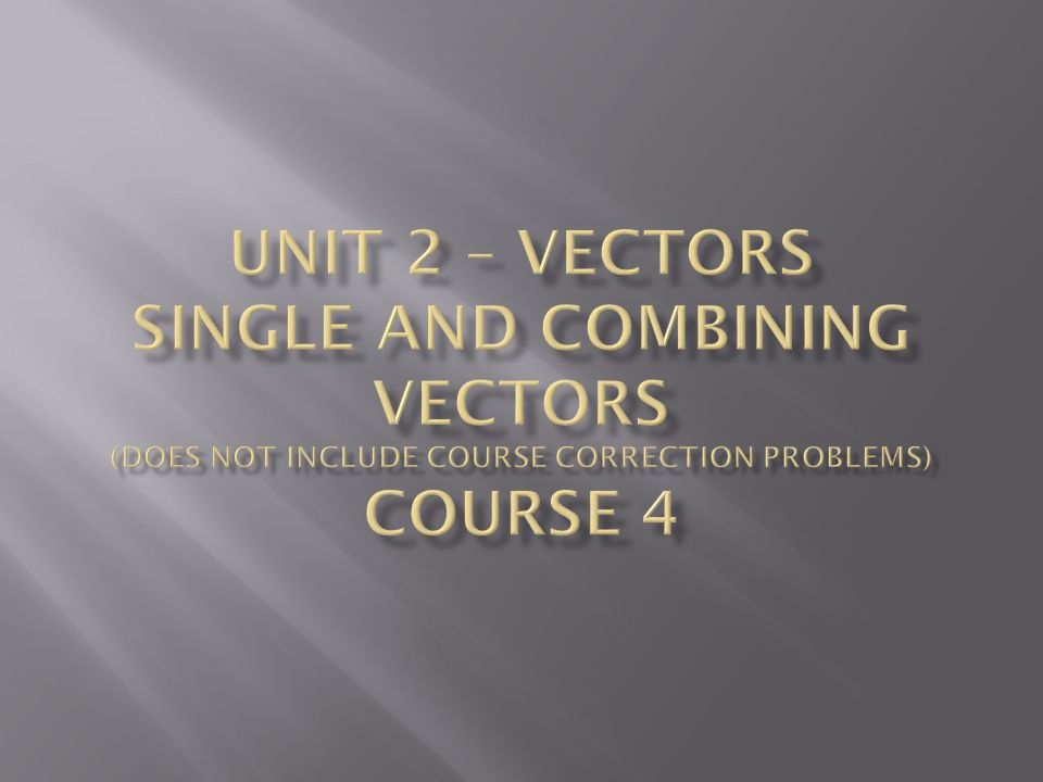 Vector Basics (click here) Vector Basics You can view this applet if you have Geometers Sketchpad.