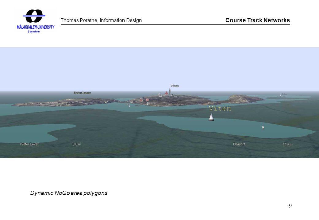 Thomas Porathe, Information Design Course Track Networks 9 Dynamic NoGo area polygons