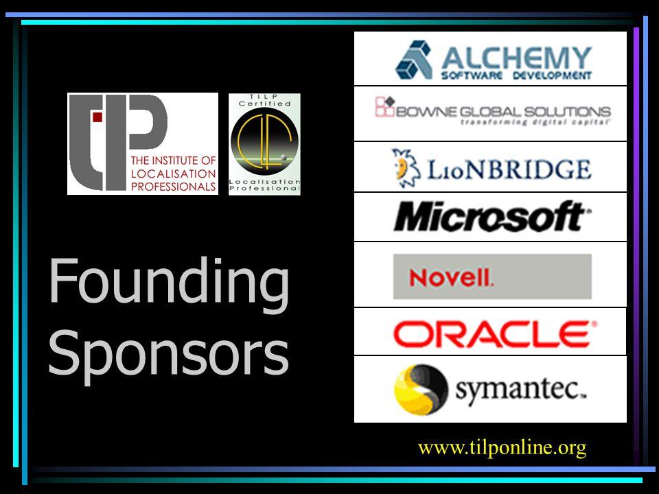 Founding Sponsors www.tilponline.org