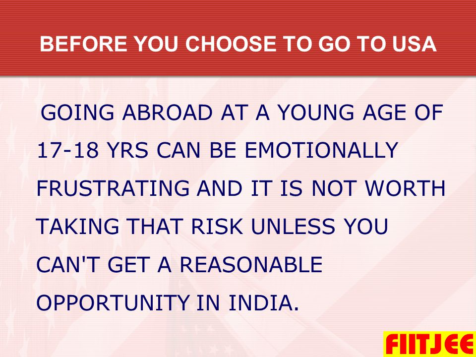 FIITJEE will train students not only for TOEFL & SAT-1 but also for Mathematics and Science papers of SAT-2 and Board Examinations.