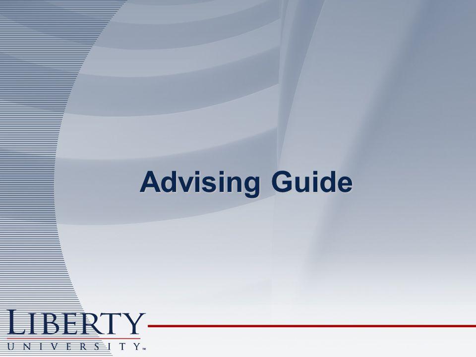 Advising Guide