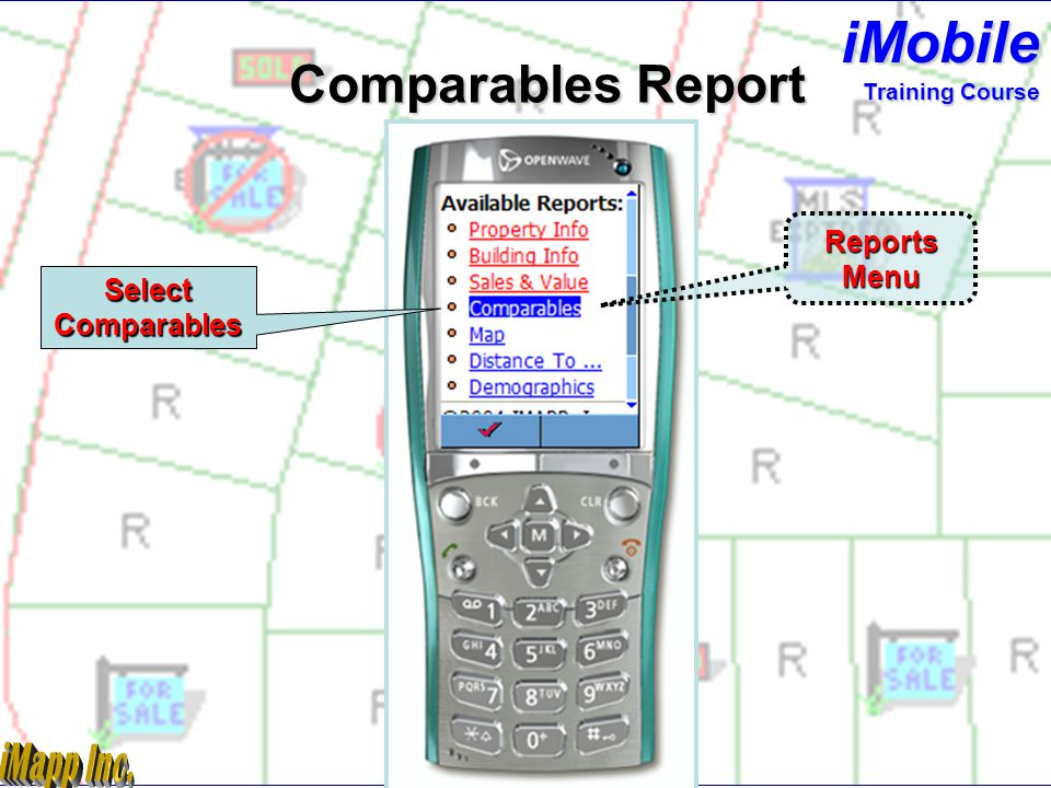 Subject Property Sales & Value Report Training Course iMobile