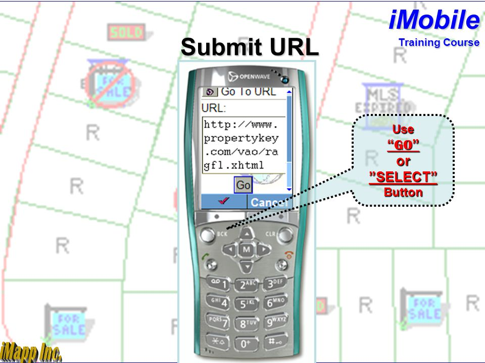 Subject Property iMobile Training Course Scroll Down To Reports Menu