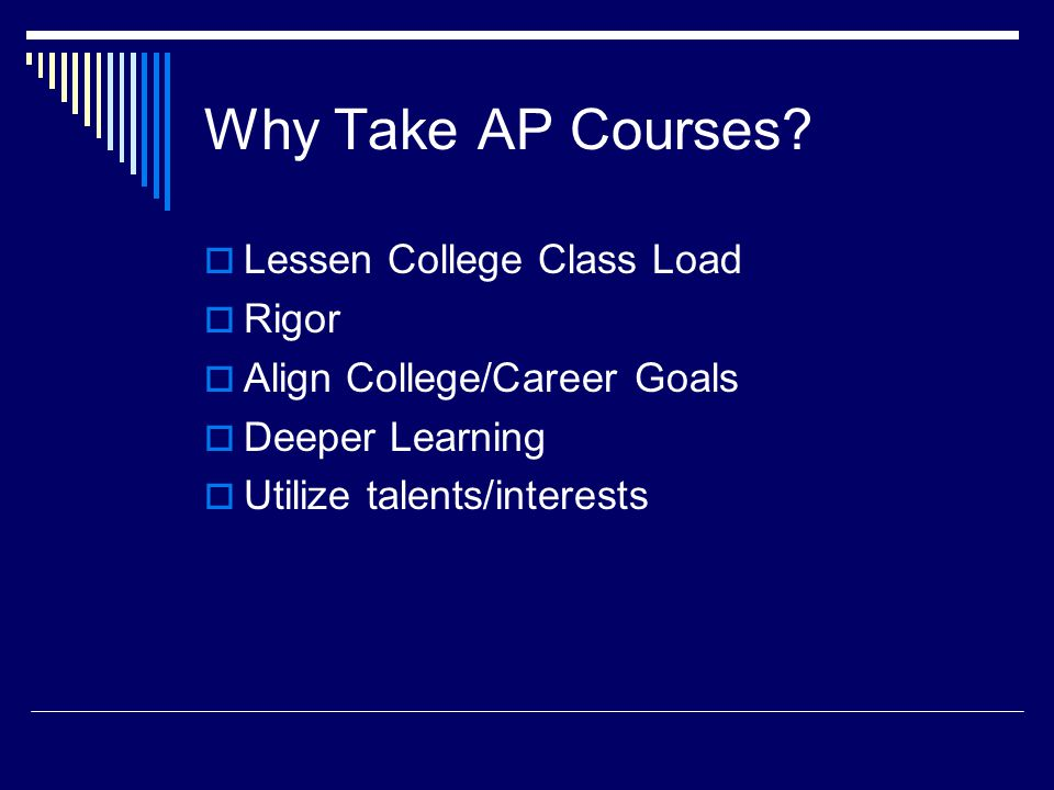 What Makes A Successful AP Student? Research says: Persistence