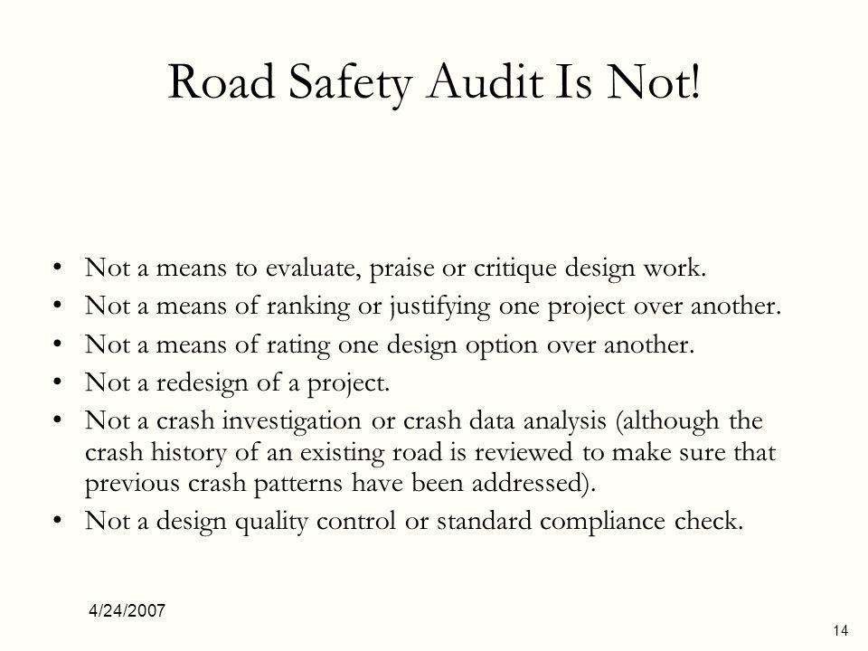 4/24/2007 15 Why do we need RSAs.