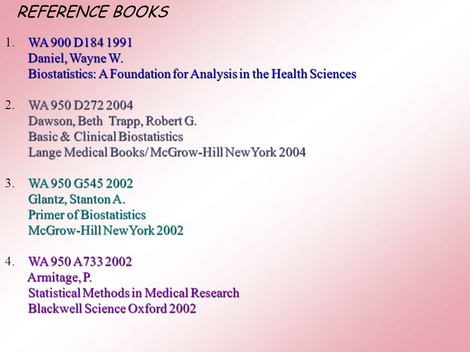 Introduction to Statistics and Biostatistics and Definitions