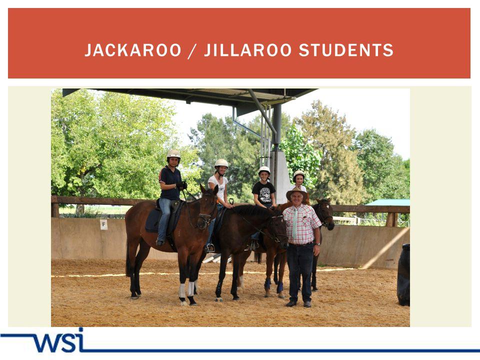 JACKAROO / JILLAROO STUDENTS