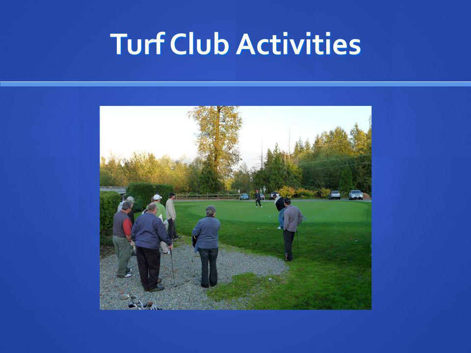 Turf Club Activities