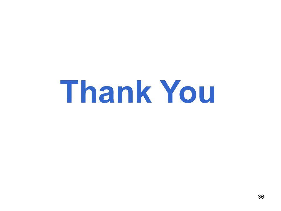 36 UNIVERSITI Thank You