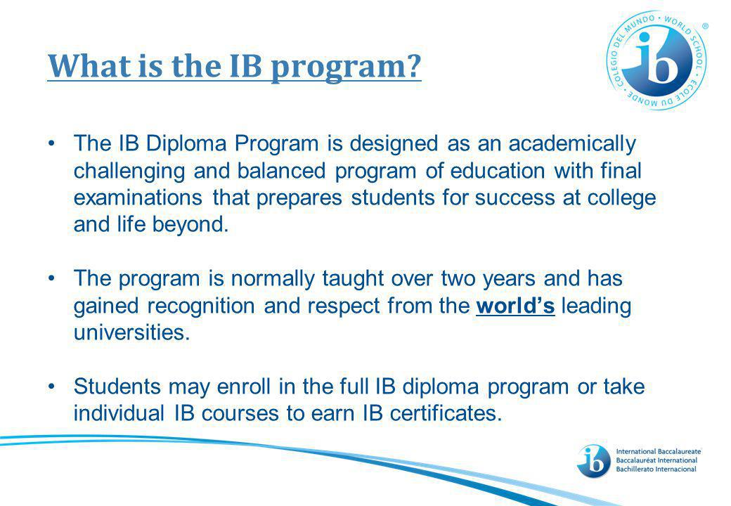 Requirements of the Diploma Program The Extended Essay is a 4,000 word paper describing the results of an original research project.