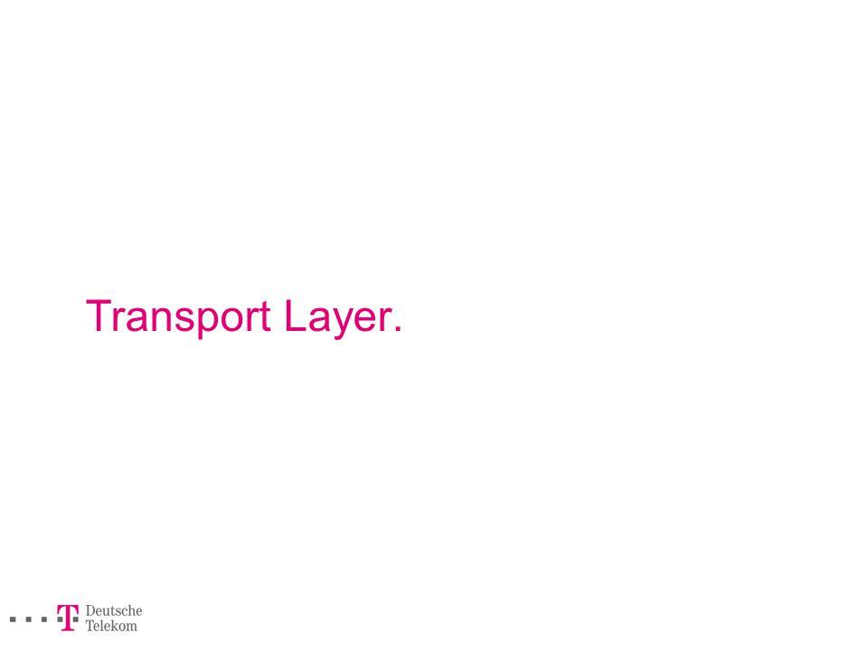 Transport Layer.