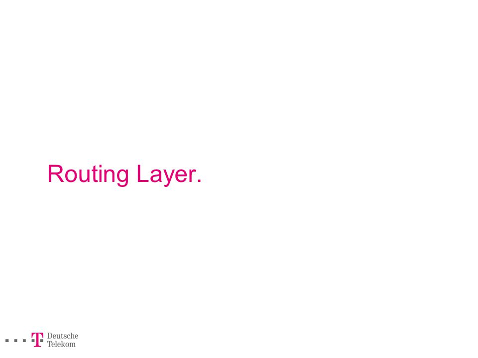 Routing Layer.