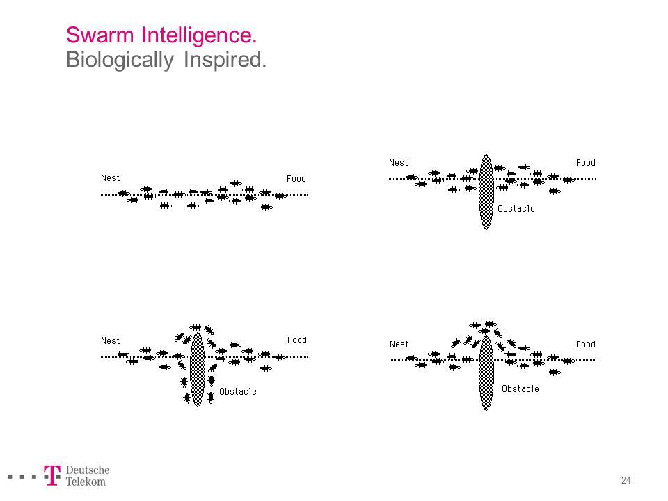 24 Swarm Intelligence. Biologically Inspired.