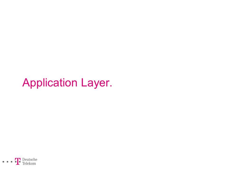Application Layer.