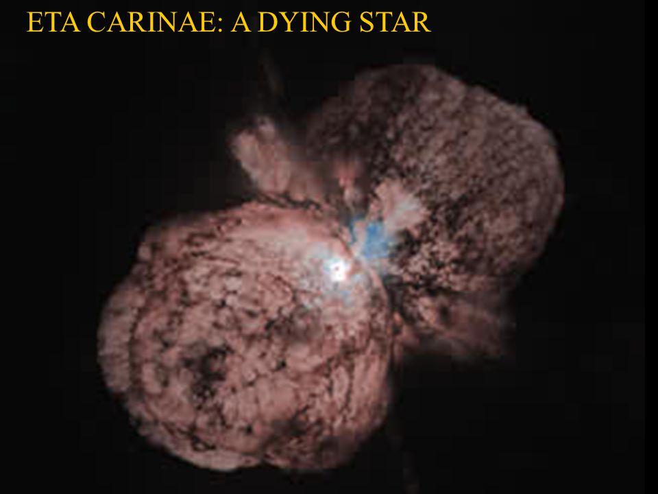 ETA CARINAE: A DYING STAR