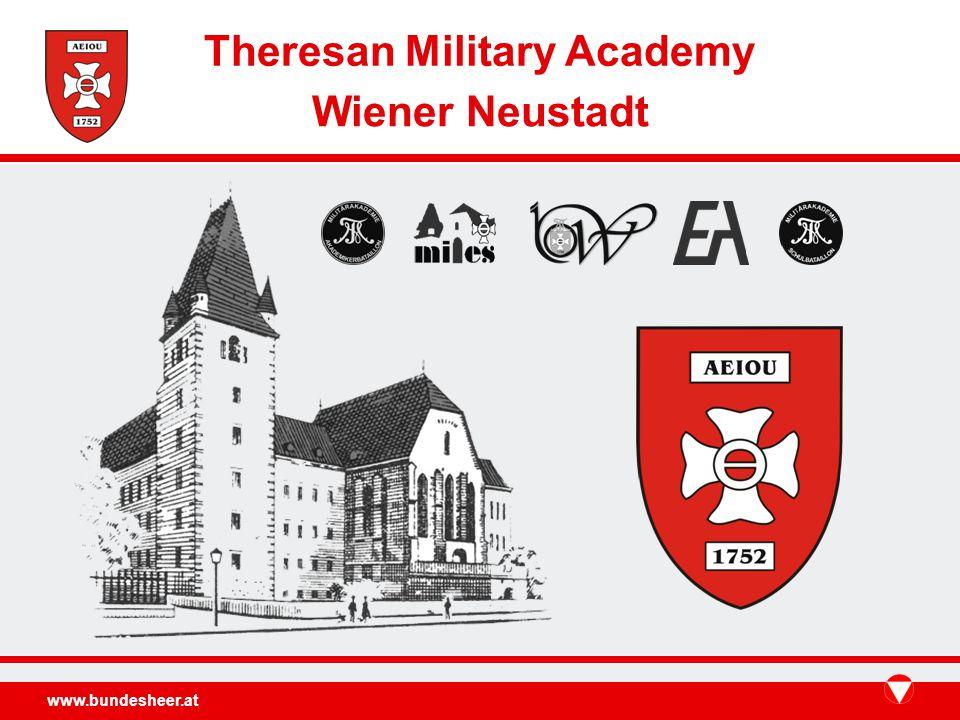 www.bundesheer.at Theresan Military Academy Wiener Neustadt