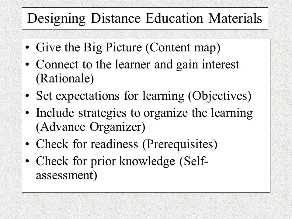 Promote interactivity by providing feedback, adapting the instruction to the learner, and suggesting activities for the learner to process at a deep l
