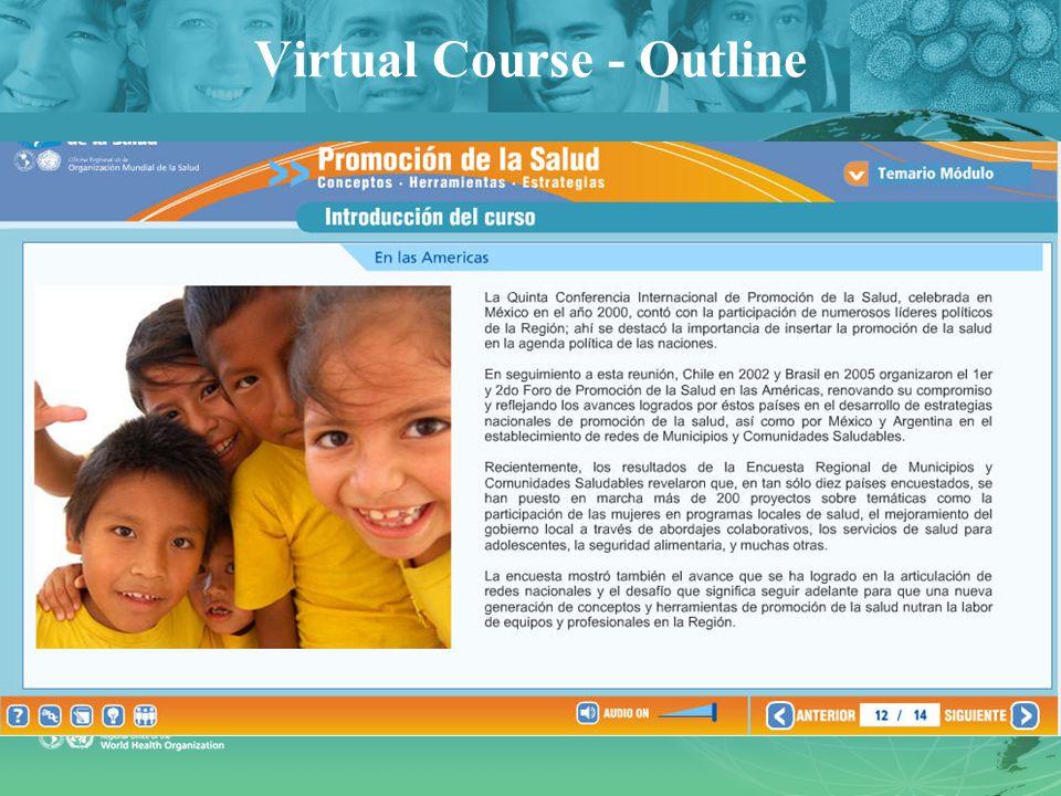 Virtual Course - Outline