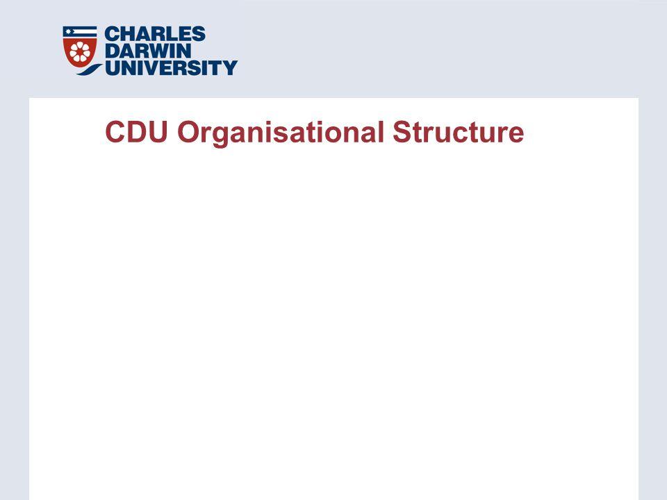 CDU Organisational Structure