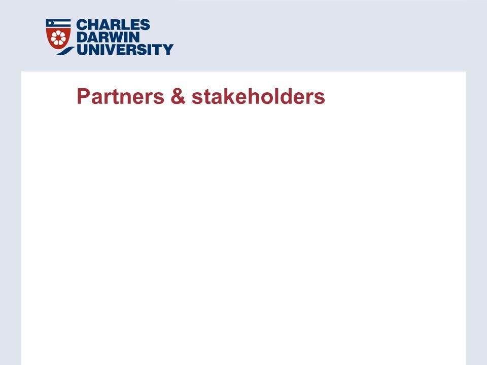 Partners & stakeholders