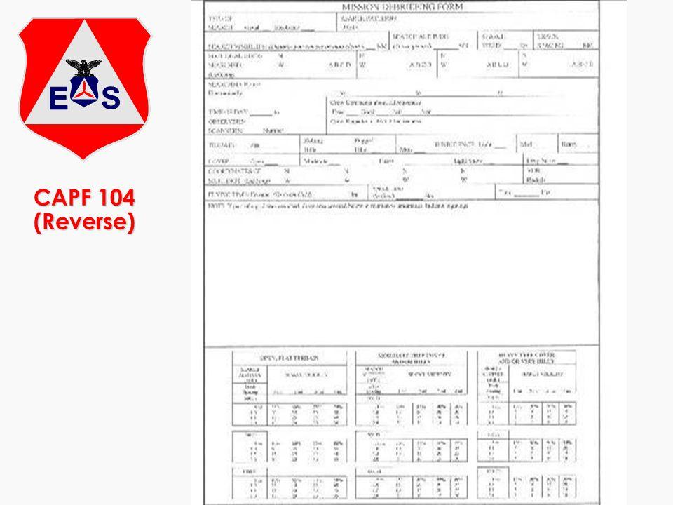 CAPF 104 (Reverse)