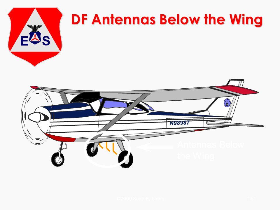 ©2000 Scott E. Lanis161 DF Antennas Below the Wing N98987 Antennas Below the Wing
