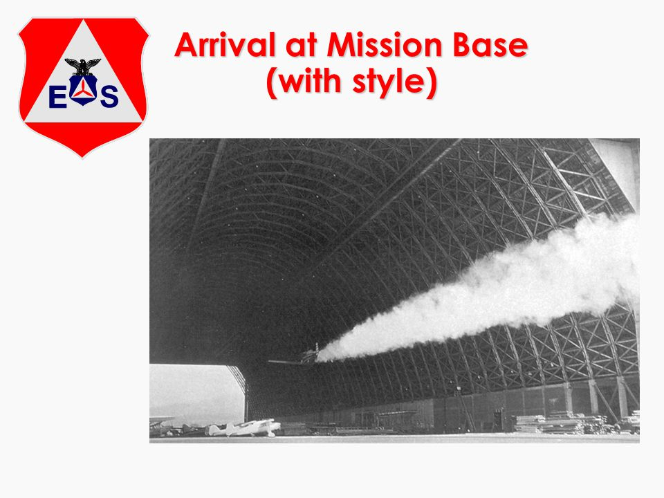 Arrival at Mission Base (with style)