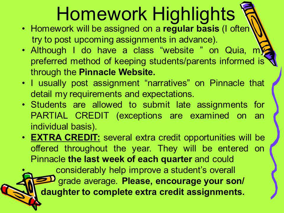 Pinnacle Grades You can see your childs grades at any time by going on Pinnacle.