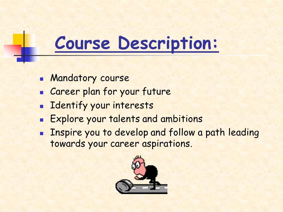 Four curricular topics: Graduation Programs, Education and Careers, Health and Finances