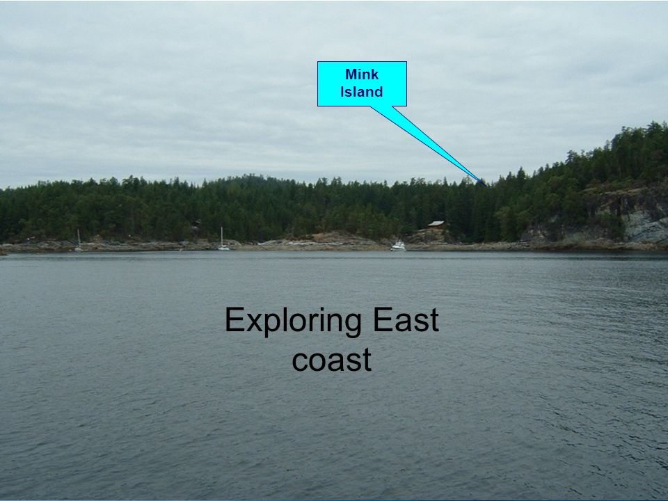 Exploring East coast Mink Island