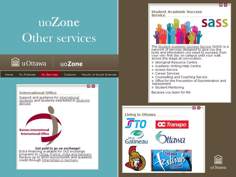 uoZone Other services