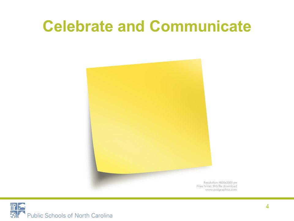 Celebrate and Communicate 4