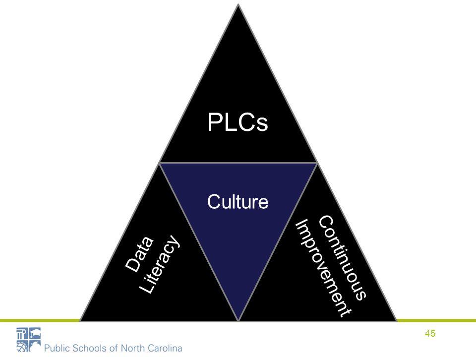 PLCs Culture Continuous Improvement Data Literacy 45