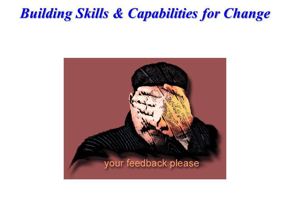 Building Skills & Capabilities for Change