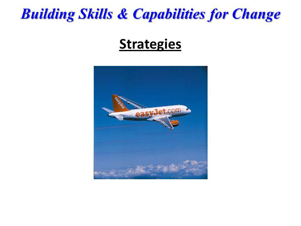 Building Skills & Capabilities for Change Strategies