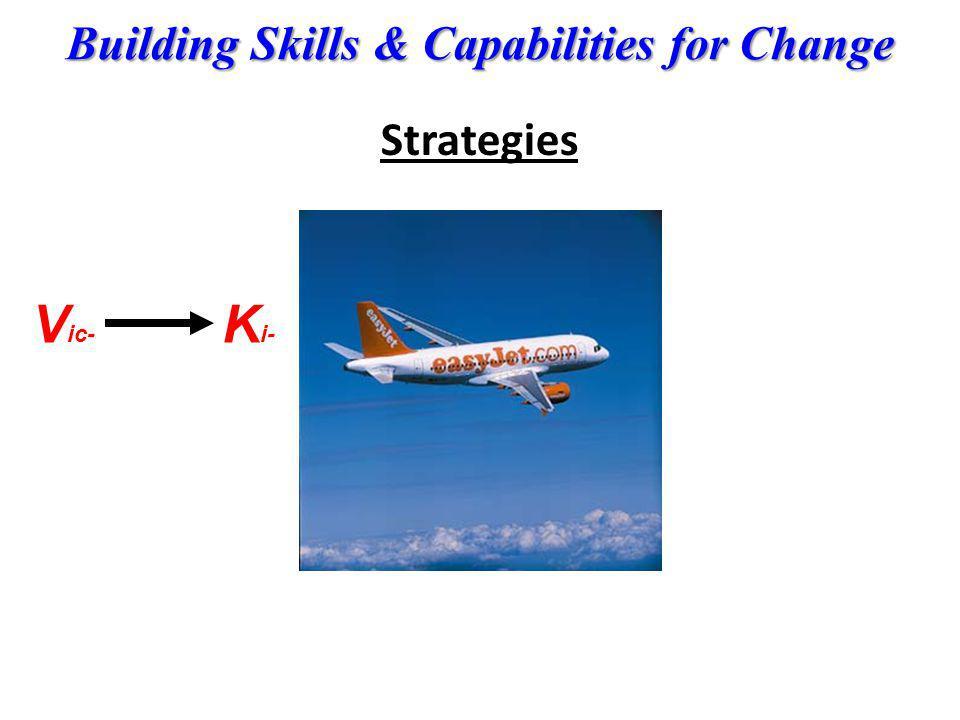 Building Skills & Capabilities for Change Strategies V ic- K i-
