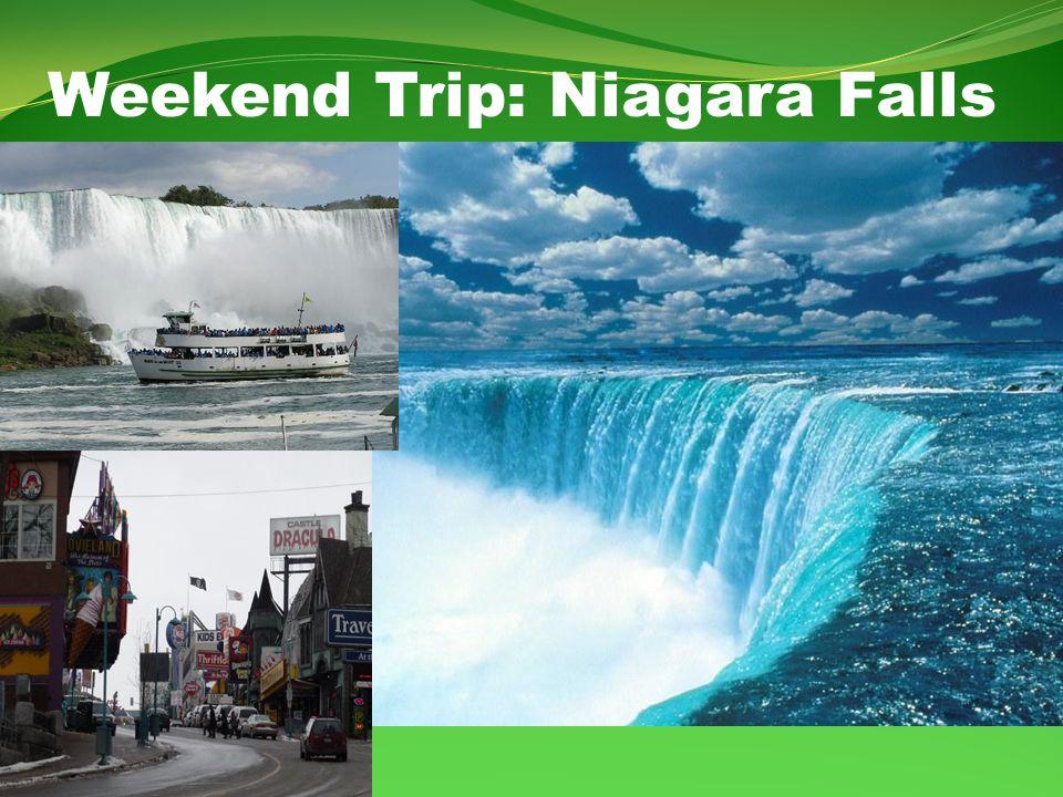 Weekend Trip: Niagara Falls