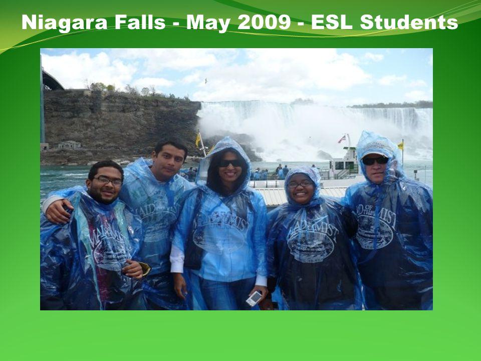 Niagara Falls - May 2009 - ESL Students