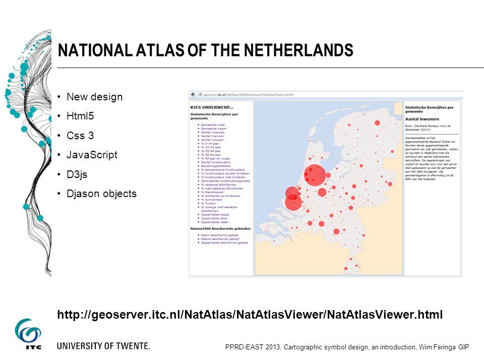 NATURAL RISK MAPS, AUSTRIA http://www.naturgefahren.at/karten/hochwasser/karte.html Open Layers PPRD-EAST 2013, Cartographic symbol design, an introduction, Wim Feringa GIP
