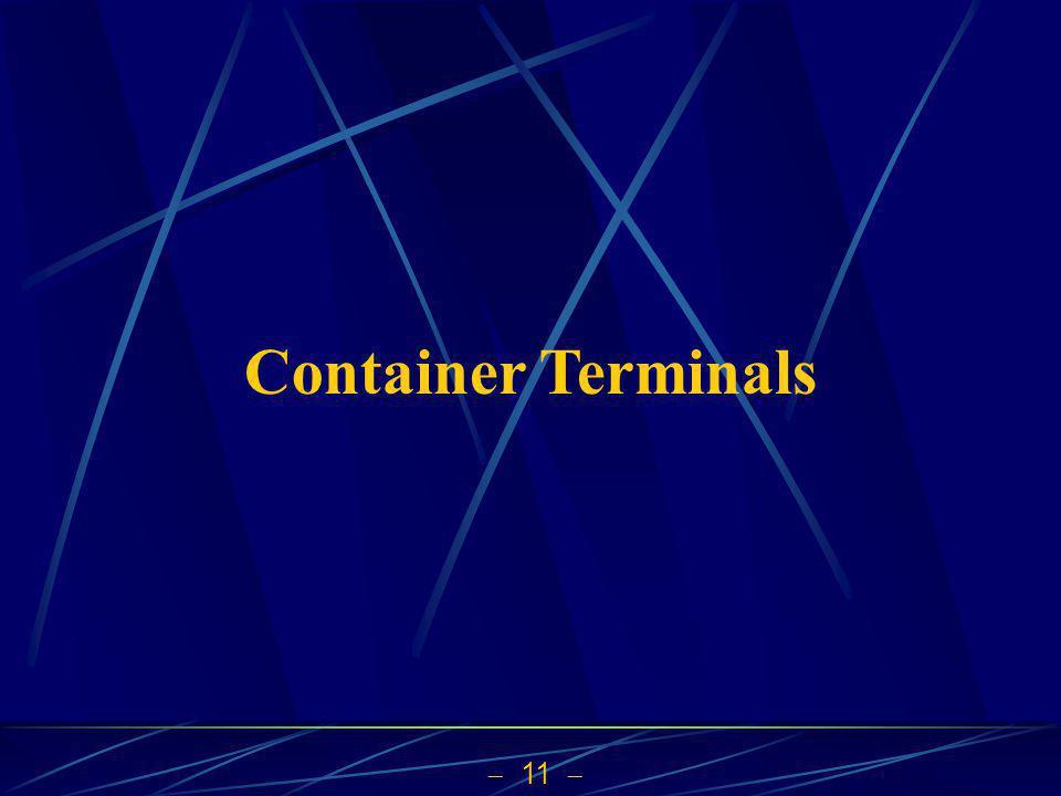 11 Container Terminals
