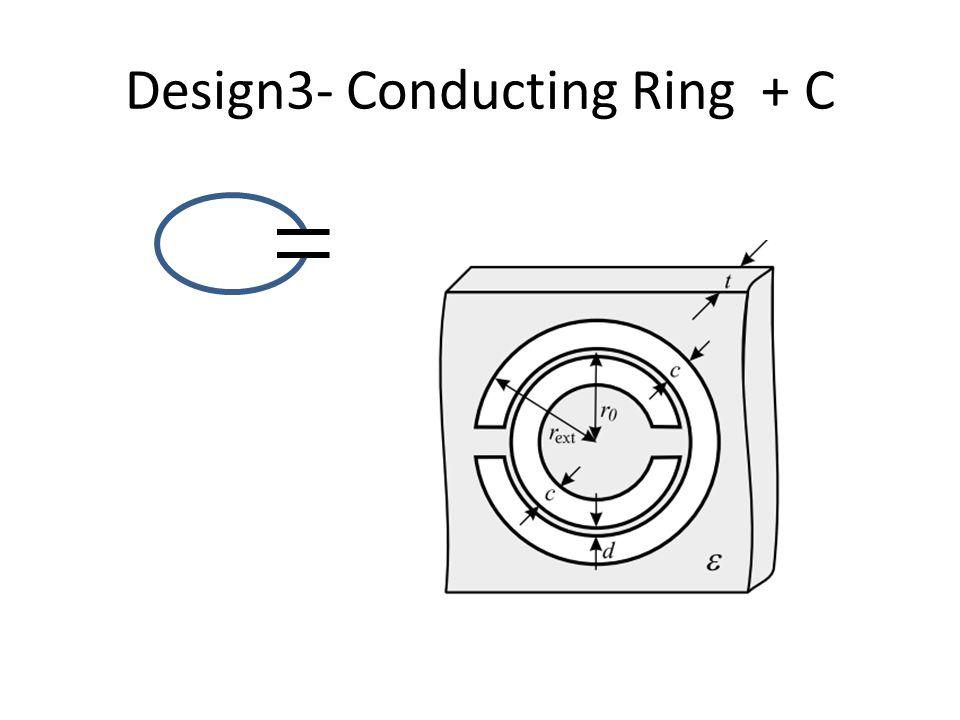 Design3- Conducting Ring + C