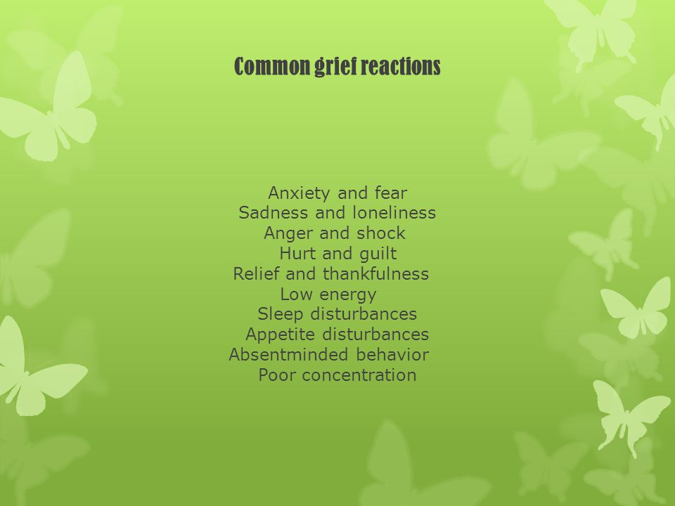Grief Counseling (cont.) 4.Developing a new identity.
