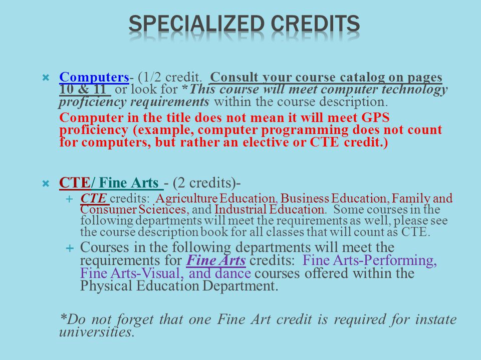 Computers- (1/2 credit.
