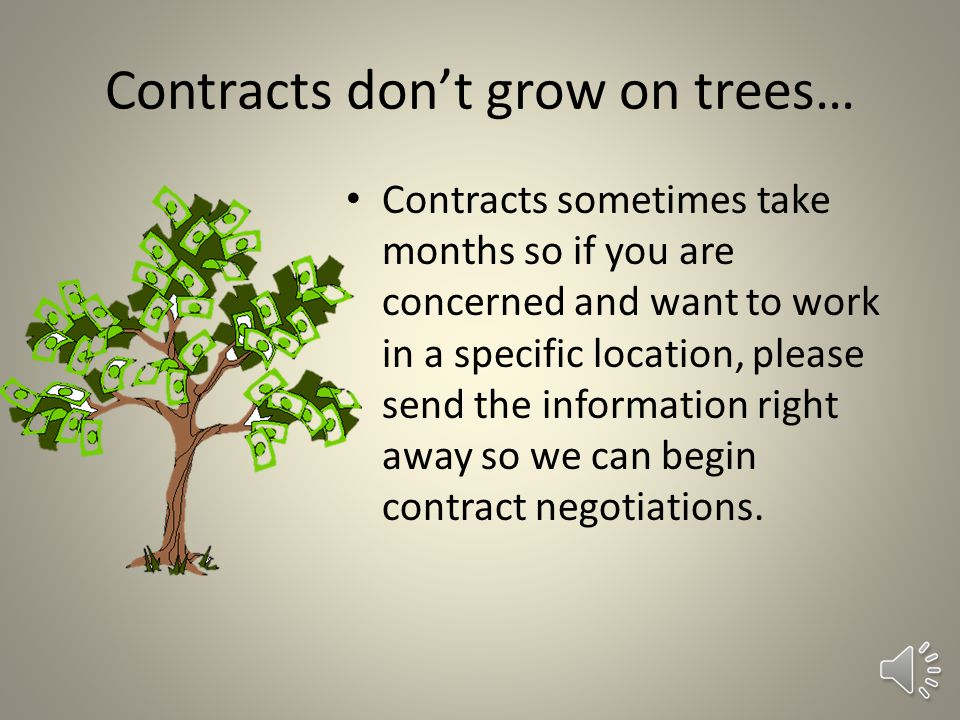 Contracts and Contacts and Conflicts Oh My! We have contracts with many agencies throughout northern California and will work to keep you close to hom