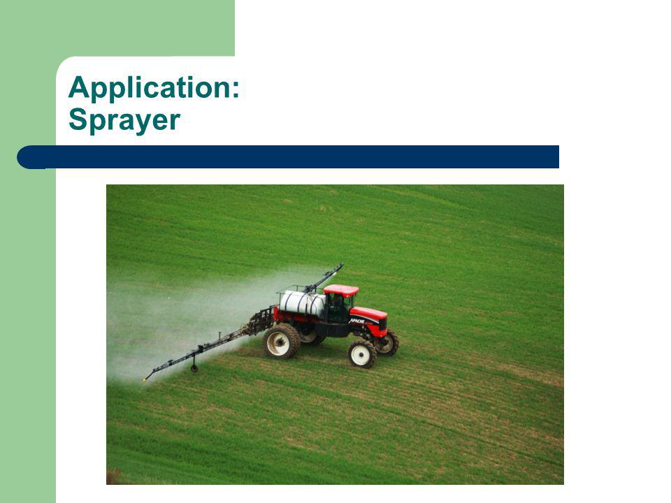 Application: Sprayer