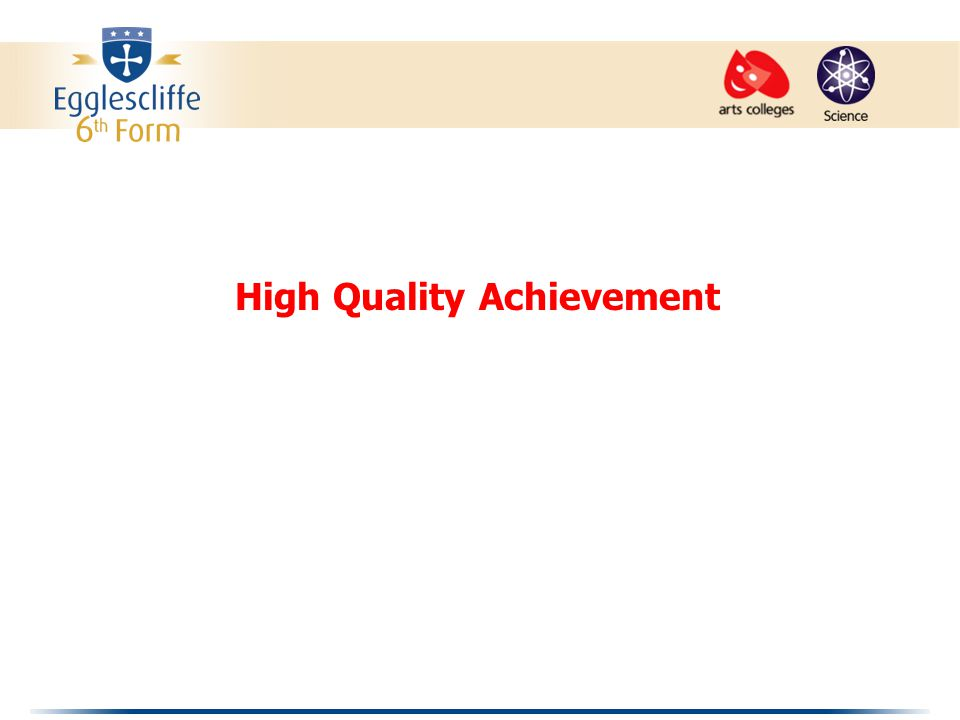 High Quality Achievement
