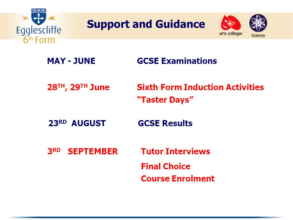 GCE A level results are outstanding.An improving trend has been maintained since 2003.