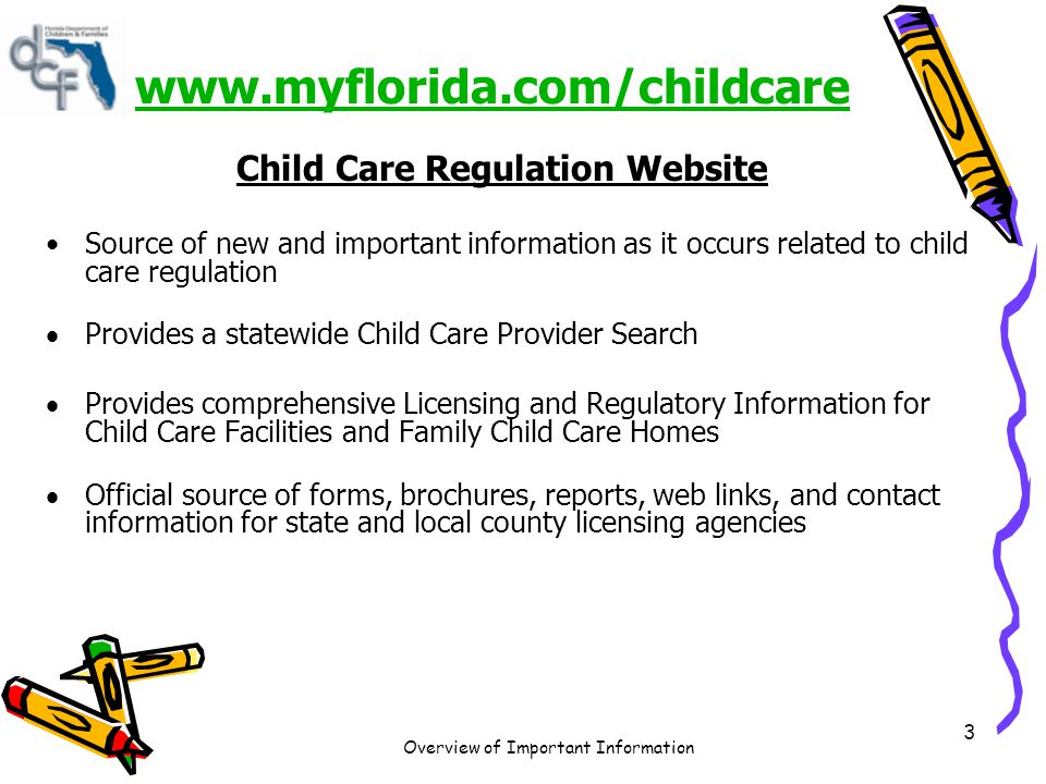 Overview of Important Information 4 Continuing Education Units (CEUs) CEUs are available for Department of Children and Families Child Care Training courses at no charge.