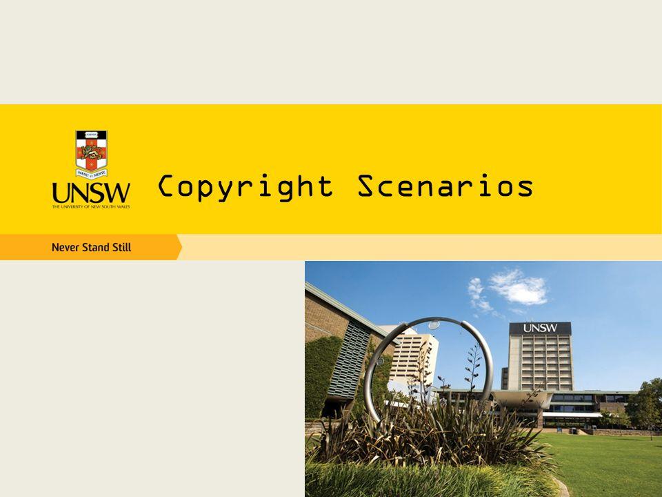 Copyright Scenarios